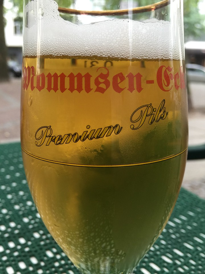 Beer Of The Month - Mommsen Eck Pils