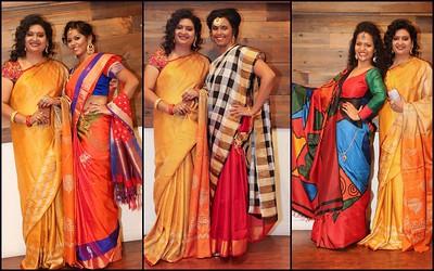 ViBha's Fashion Show at Saree Love@Crave Cook Click event 2015!!