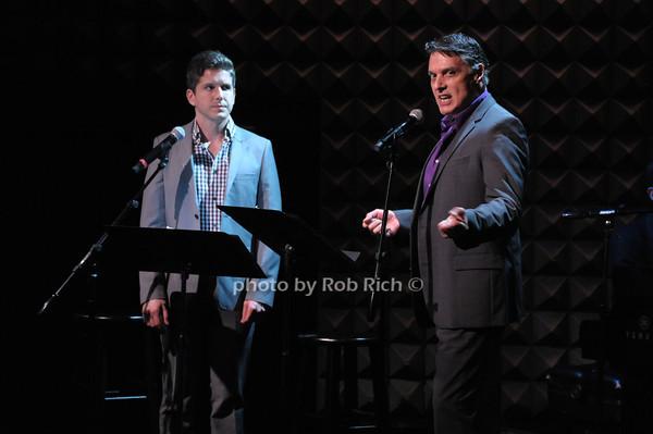 Howie Michael Smith, Robert Cucciolo photo by Rob Rich © 2014 robwayne1@aol.com 516-676-3939