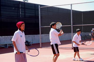 Boys Tennis, Track Practice, Girls Bball