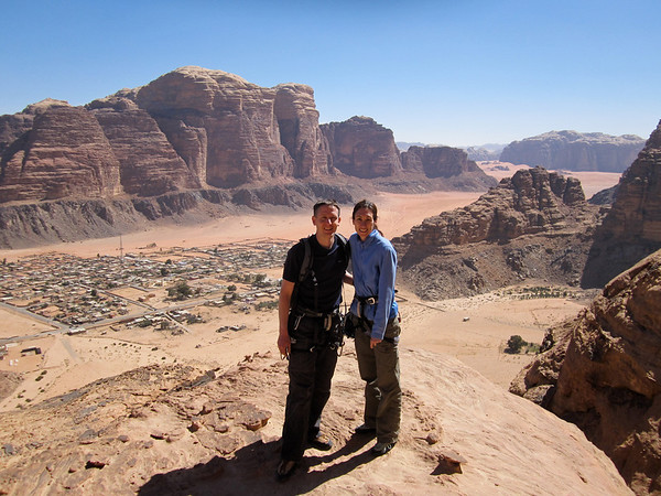 Climbing in Wadi Rum - Feb 2011