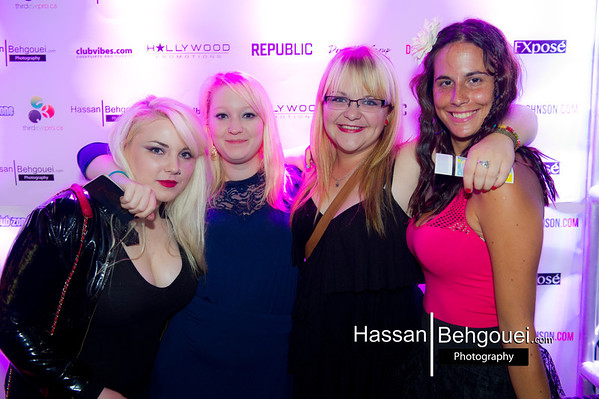 Republic Mondays 3 Year Anniversary Hollywood Promotions Donelly Group Downtown Vancouver Bc Canada  (7_30_12)