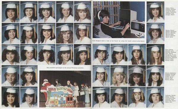 1984 Senior Class Photos