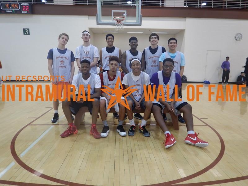 Fall 2015 Basketball Men's B Champion 3's Please