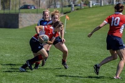 04-04-15 - Rugby - Boulder Babes vs  Back Ice