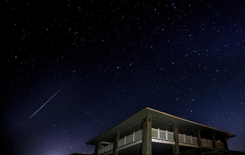 #300 Geminid, Spring Lake, NJ during the Geminid meteor shower of Dec14, 2012.