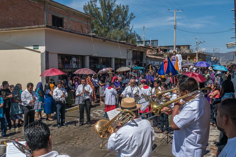 Semana Santa on the Streets of Teotitlan del Valle