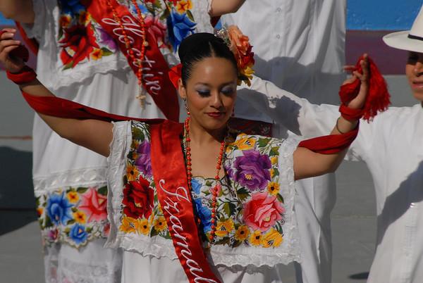 Bailes Mexicanas - Semana Cultural TAE