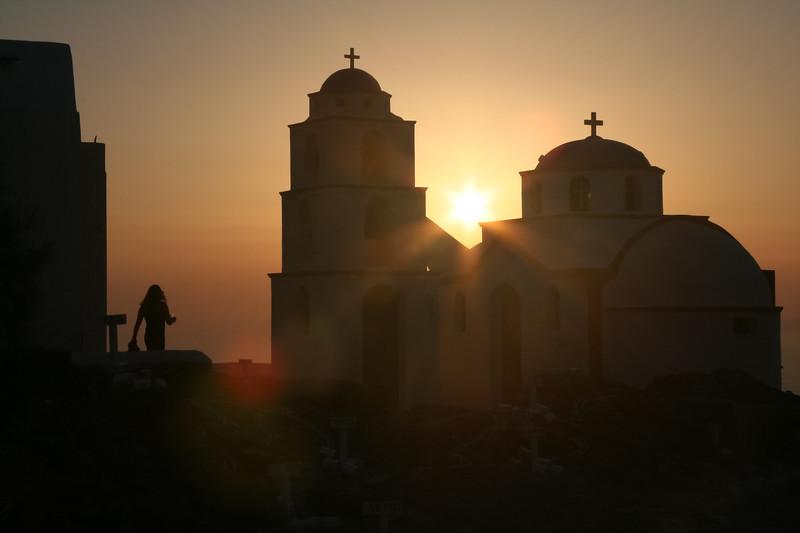 Near Santorini