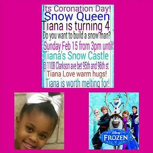 02/15/15 Tiana Frozen BDAY
