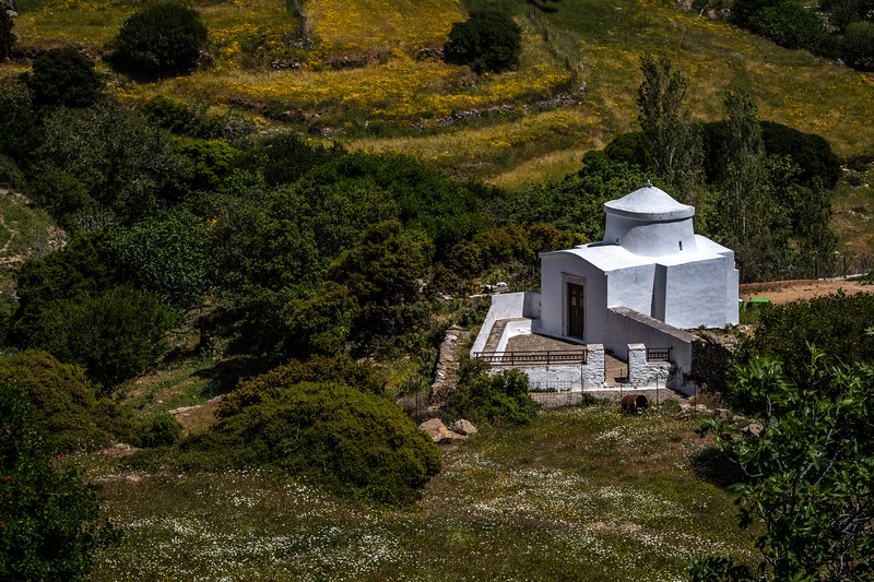 Greek church in the mountains