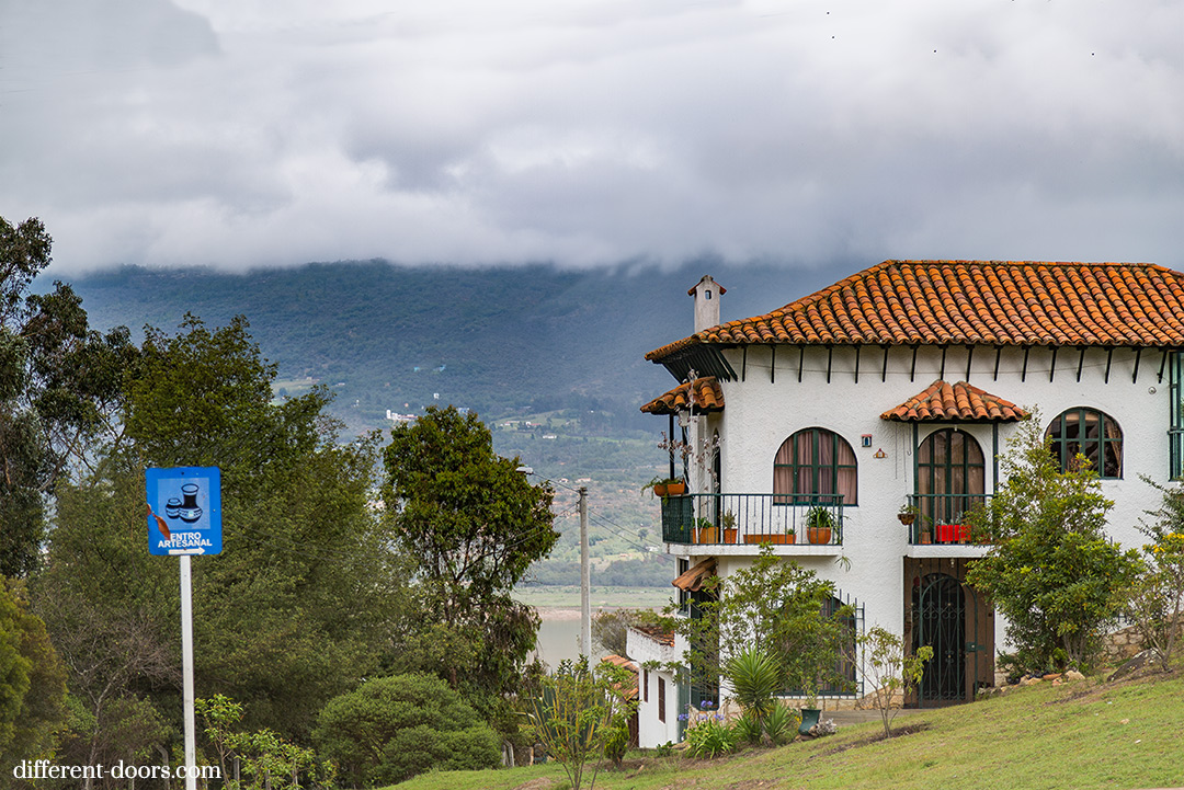 Guatavita, Colombia, Andes, South America, mountains, quaint