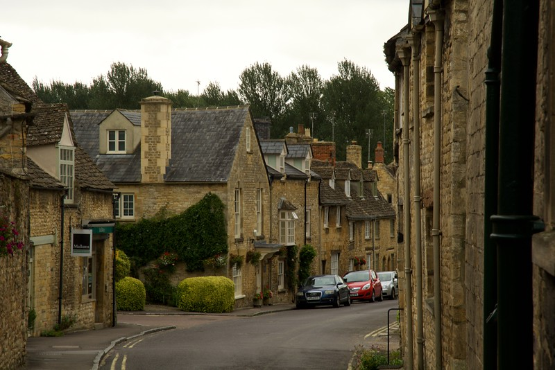 Cotswold, England, Street Scene, architecture