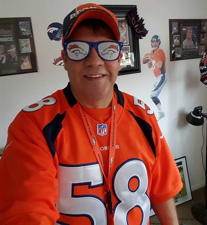 . Broncos #1 Fan. (Submitted by Dennis)