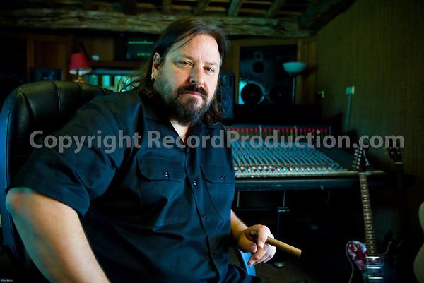 Producer Bob Marlette at Monnow Valley Studios UK