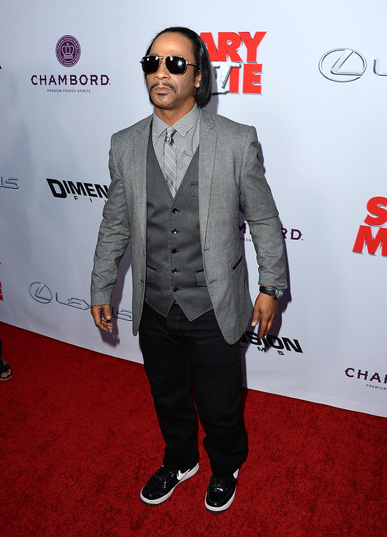 ". Actor Katt Williams arrives at the Dimension Films\' ""Scary Movie 5\"" premiere at the ArcLight Cinemas Cinerama Dome on April 11, 2013 in Hollywood, California.  (Photo by Jason Merritt/Getty Images)"
