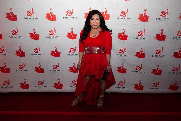 2018-09-29 - Red Dress Party San Diego 2018 - Aquatika
