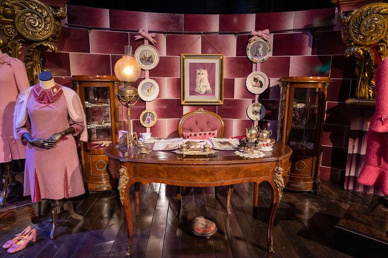 Umbridge's office set at Warner Bros. Studio Tour London