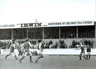 Bangor v Portadown Soccer