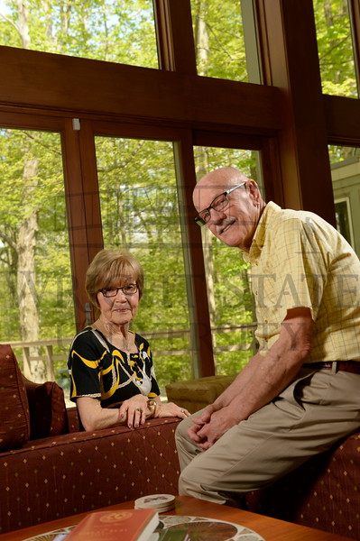 15630 Planned Giving Donors Judy and Glenn Rymer at their home in Oxford Ohio 5-5-15