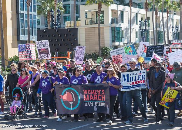 Woman's March San Diego ~ 2020