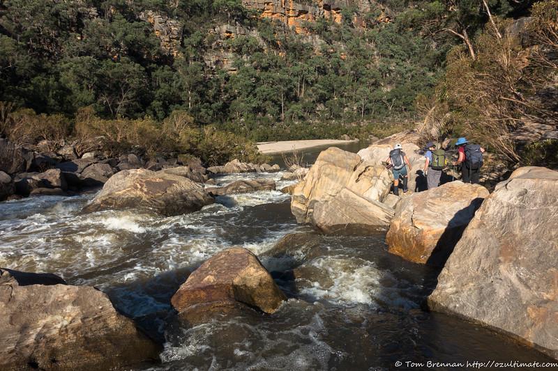 Boulders at King Rapid