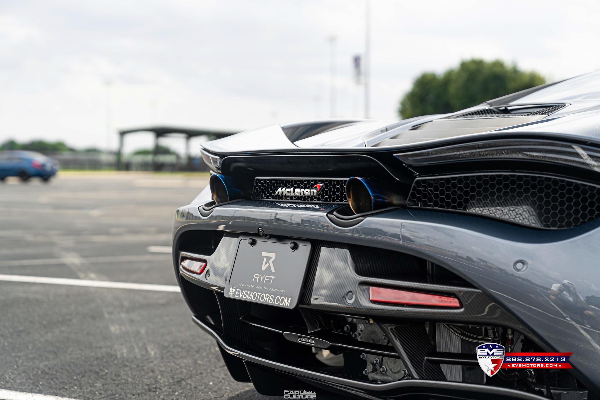 McLaren 720s Ryft Exhaust