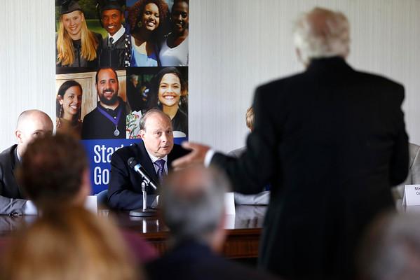 Senate Pres. Stan Rosenberg Visits BCC-062415