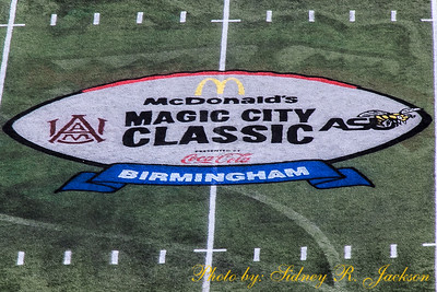 AAMU 2018 Football Magic City Classic Pre-Game Friends Band Pageantry