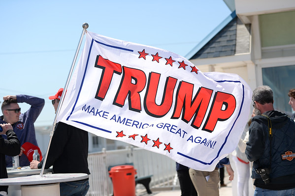 Supporters of President Trump Rally - Seaside Heights,NJ  4/28/2018 ( MEDIA )