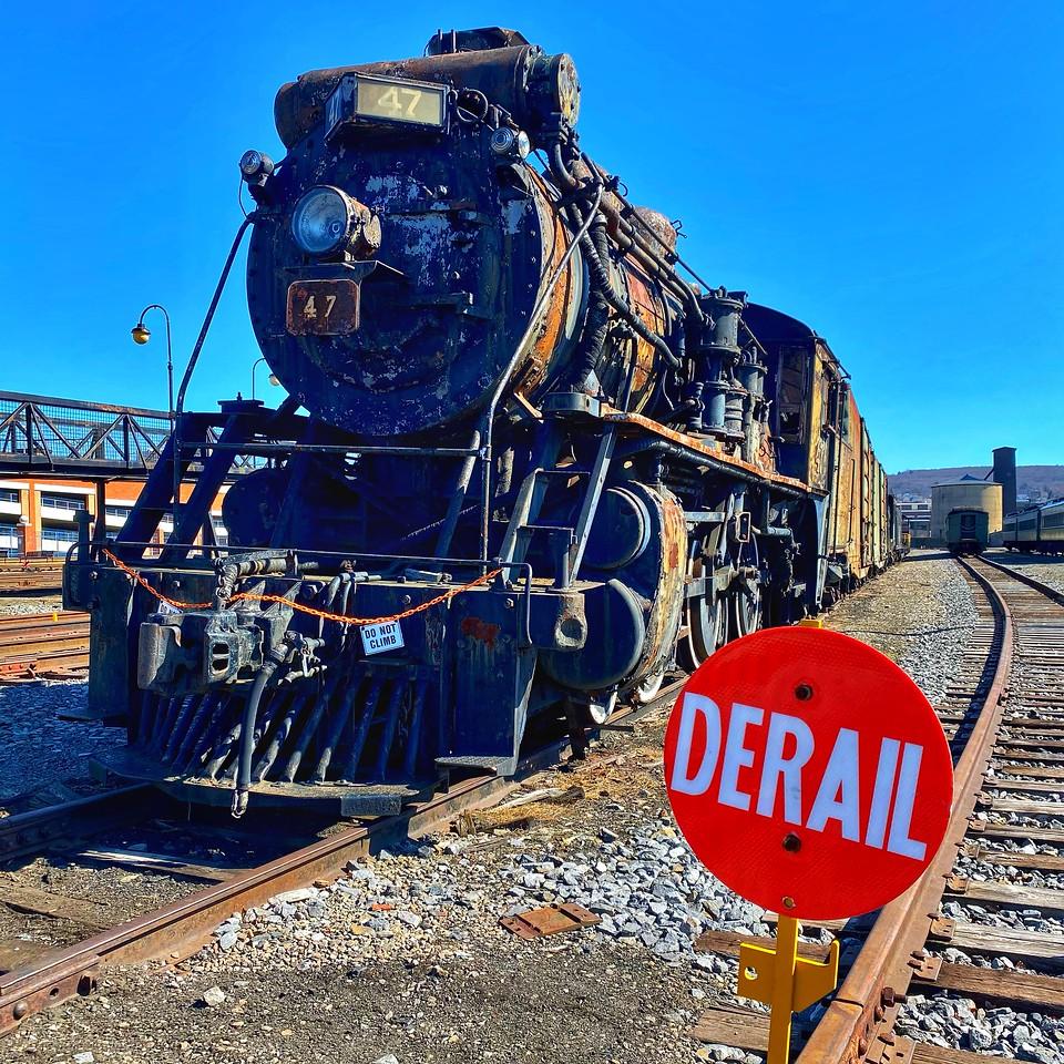 Steamtown national historical site - scranton pennsylvania - engine 47