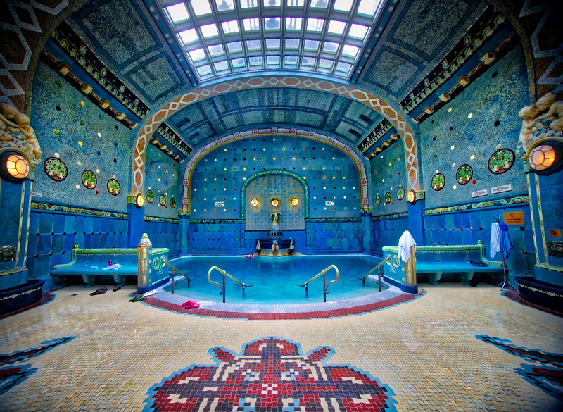 The Turkish Baths Of Budapest