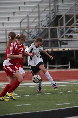 Edsel Girls JV Soccer vs Monroe