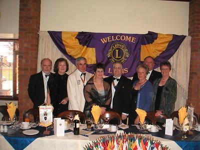 Glanford Lions Dinner 24 April