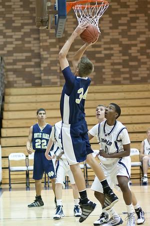 ND Basketball Freshman Loyola