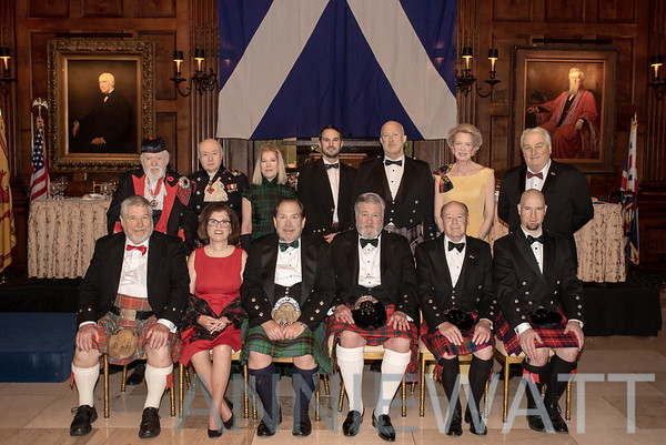 Nov. 16, 2018 Saint Andrew's Society's 262nd Annual Banquet