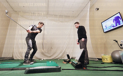 Brett Allen of GolfTEC and his golf instructors help client golfers with their swing and other sport techniques