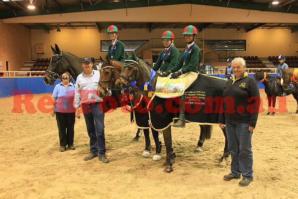 2014 05 25 PCAWA State ShowJumping Champs  Team Challenge Presentations