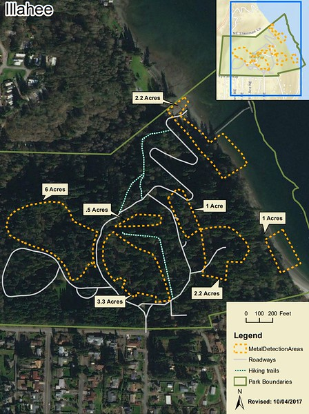 Illahee State Park (Metal Detection Areas)