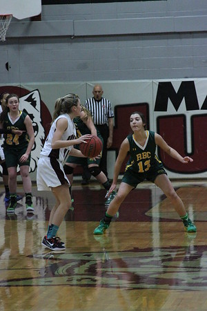 2014-2015 Girls Varsity vs RBC