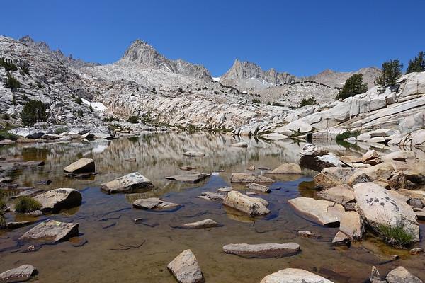 Granite Park BP  Day 1-2  (TH > Lower Pine Lake > Granite Park) Jul 27-28, 2020