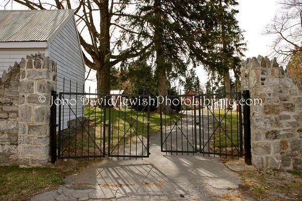 USA, Maryland, Hagerstown. B'nai Abraham Jewish Cemetery. (3.2011)