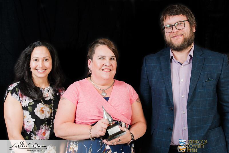 2019 CCT Abbott Awards Winners Favourite Supporting Actress Marnée Bellavance Tin Woman Maggie Melnychuck Law Corp.jpg