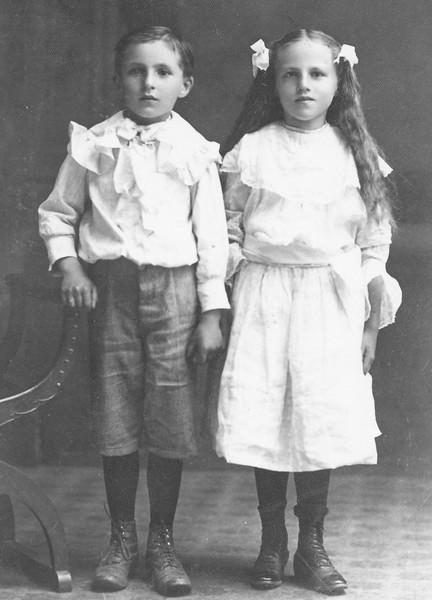 Twins - Joseph Von Arx and Mary Von Arx