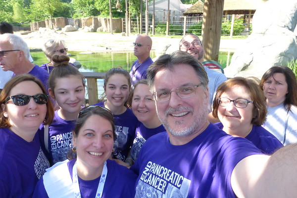 PurpleStride Cleveland Zoo 06-2017