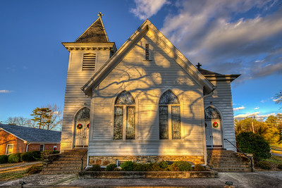 Banks Presbyterian Church, Marvin (HDR)