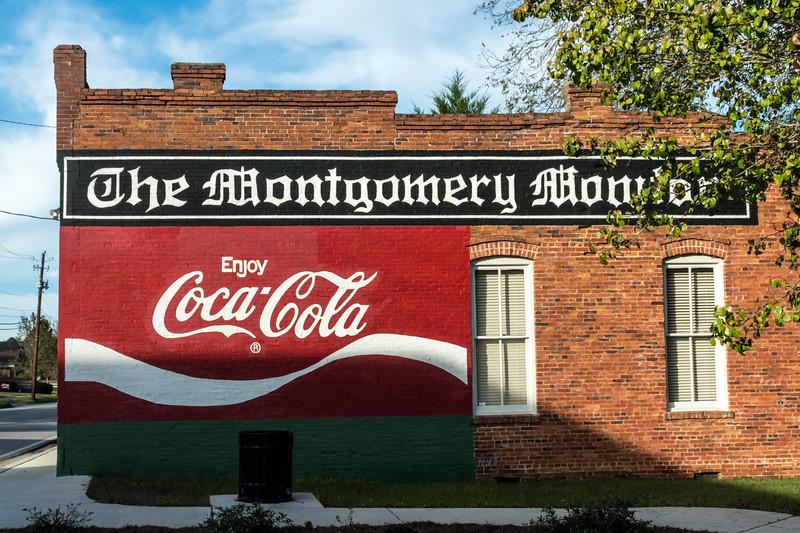 GA, Mount Vernon - Coca-Cola Wall Sign 02