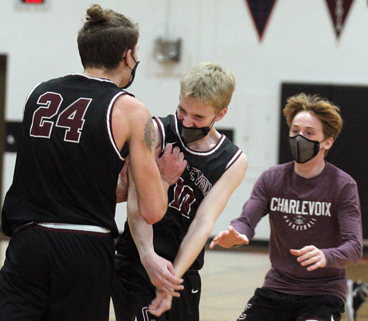 Basketball: Charlevoix at Elk Rapids, March 6, 2021