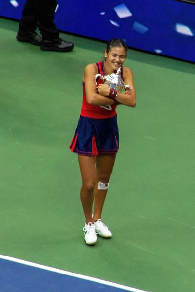 Emma Raducanu beat Leylah Fernandez to win the US Open