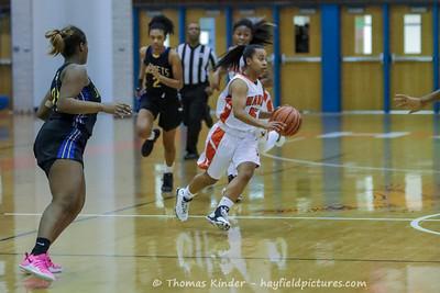 Girls Varsity Basketball vs Osbourn Park 12/3/16